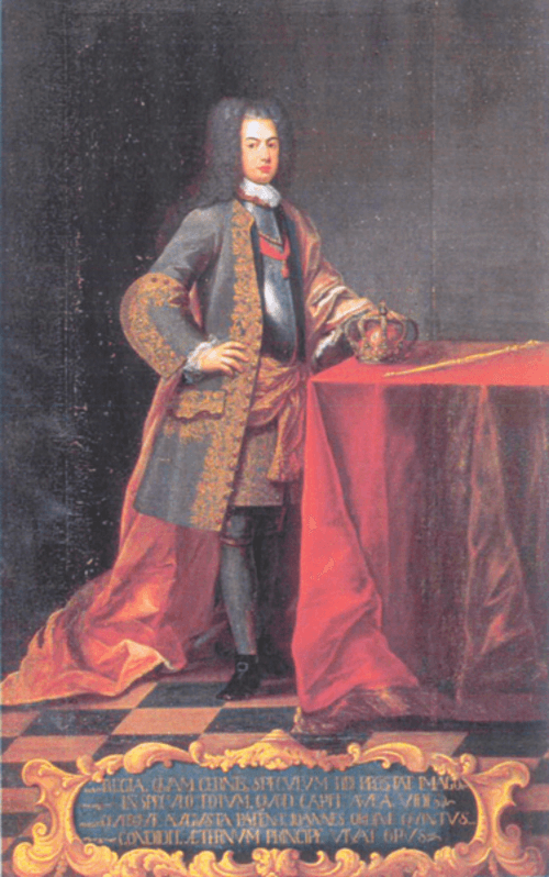 D._João V Biblioteca Joanina (1725) - Domenico Duprà