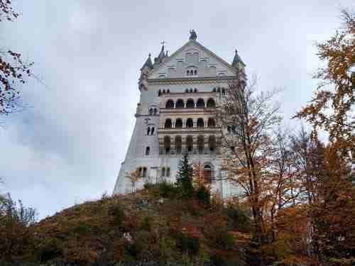Castelo de Neuschwanstein e a Cinderela