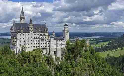 Castelo de Neuschwanstein Luis II Baviera