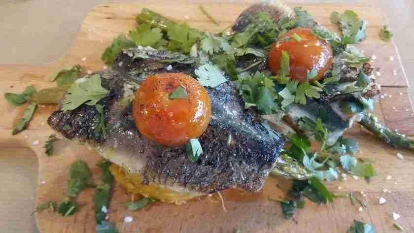 Marialfarroba Filetes de Sardinha com Pure de Batata Doce