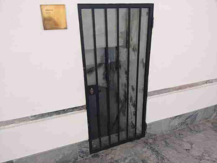 Acesso à Cisterna, Convento de São Francisco, Beja