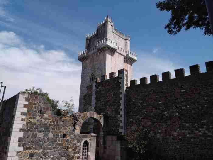 Castelo de Beja e a Torre de Menagem, antiga Pax Julia