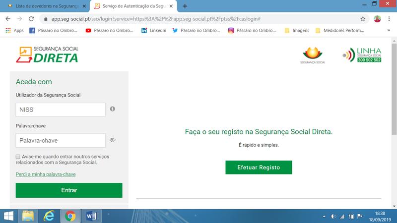 Segurança Social Direta