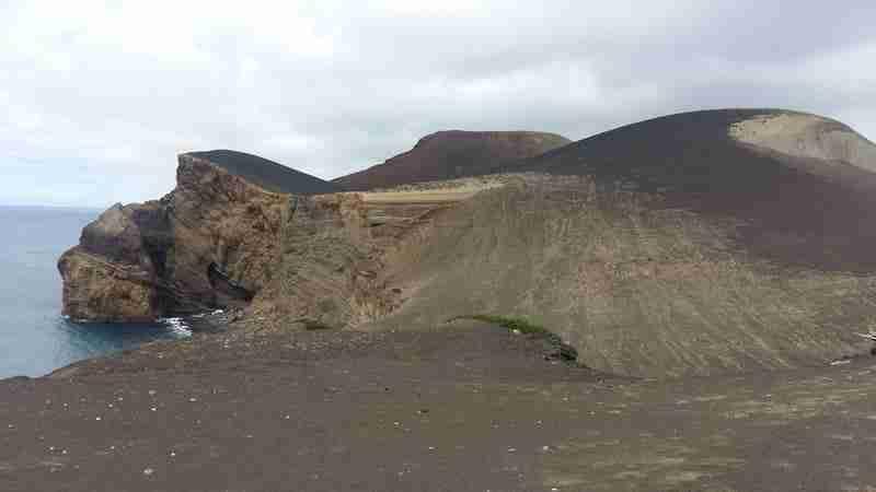 Paisagem Vulcânica Capelinhos, Ilha do Faial.