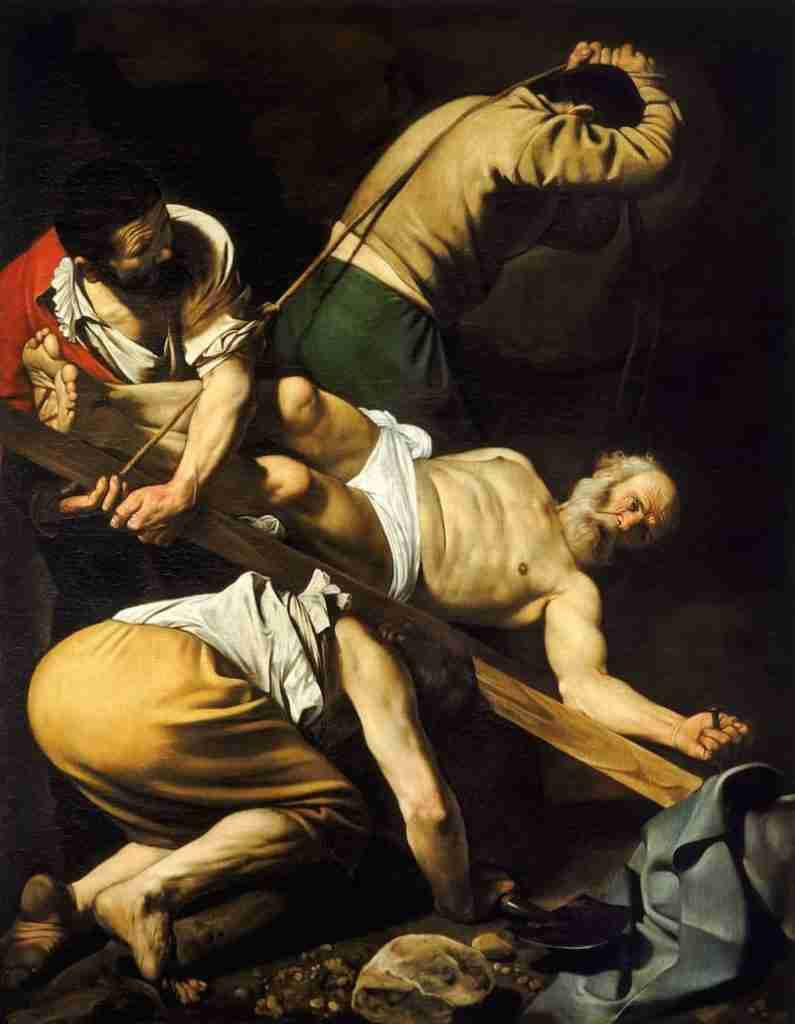 Crucificação de São Pedro, Caravaggio