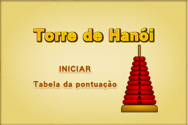Jogos de Estratégia Online Torres de Hanói