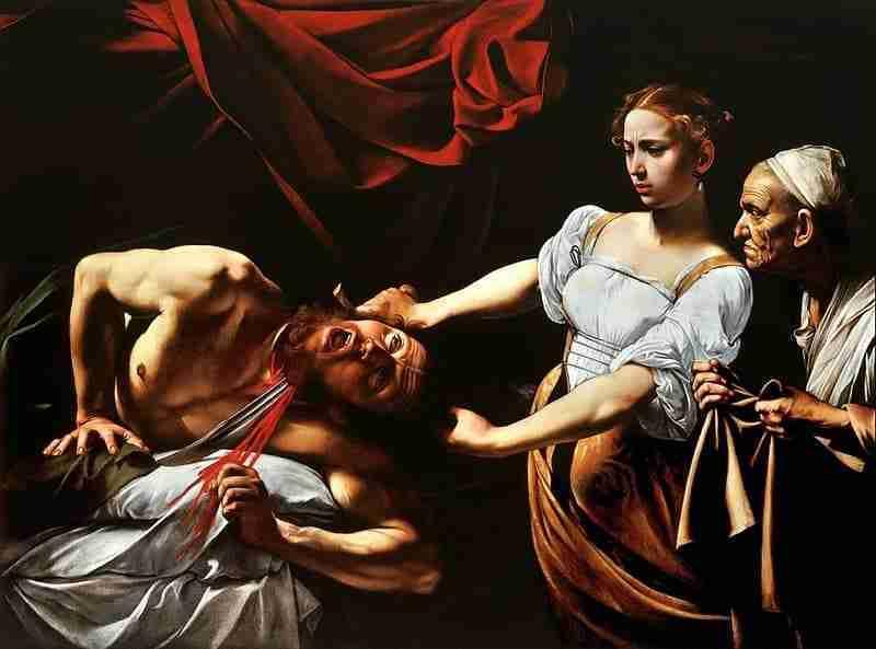 Judite e Holofernes, Caravaggio