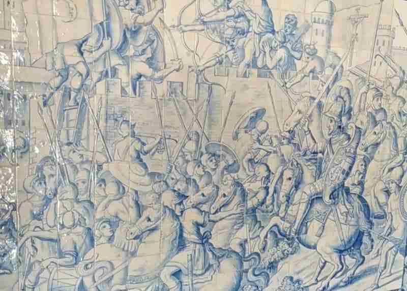 Conquista de Lisboa D. Afonso Henriques