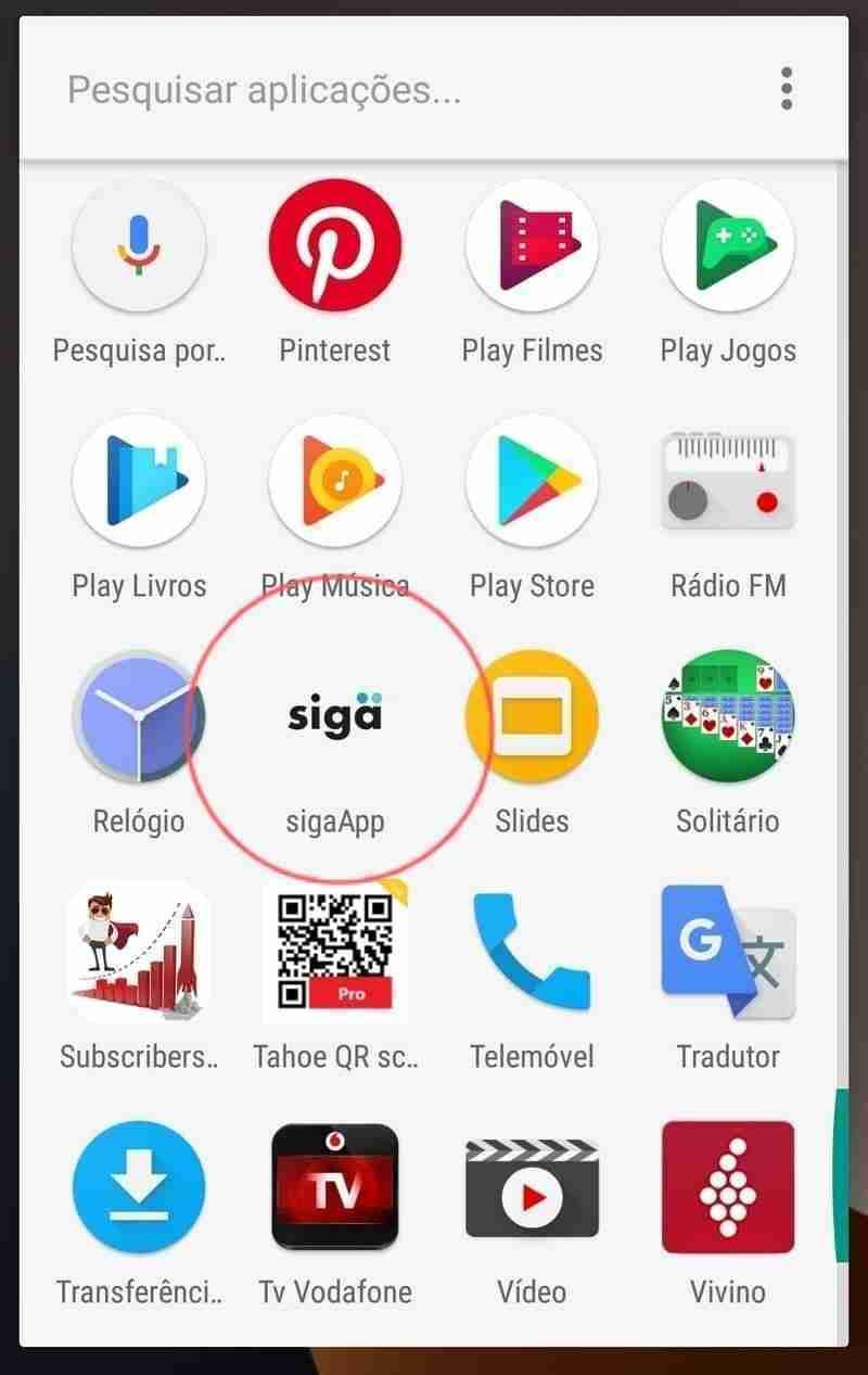 Icone da Siga App