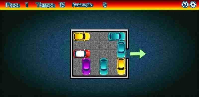 Jogos de Raciocínio Lógico Jogo Sair do Estacionamento