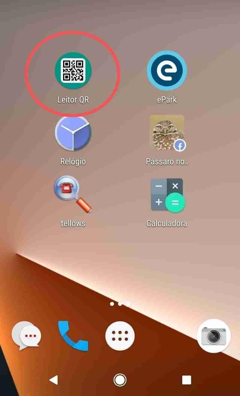 Instalar a App QR Code