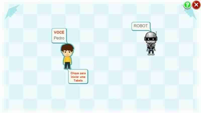 Imagem 1 Convidar o Robot para Jogar