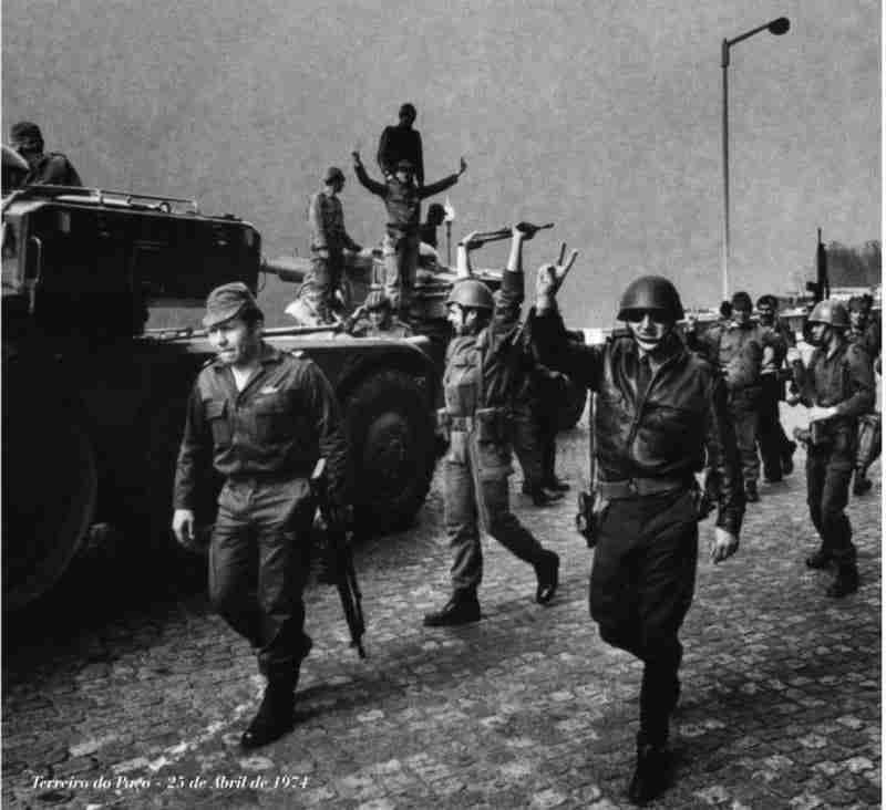 Terreiro do Paço 25 Abril 1974
